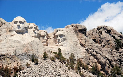 Nordamerika - USA - Mount Rushmore