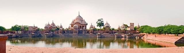 Kusum Sarovar in Uttar Pradesh - Indien