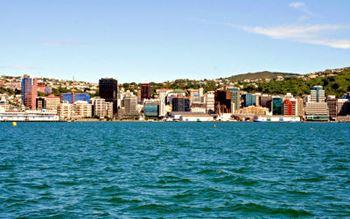 Blick auf Wellington