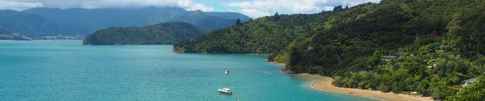 Wunderschönes Neuseeland - hier könnte man sich niederlassen!