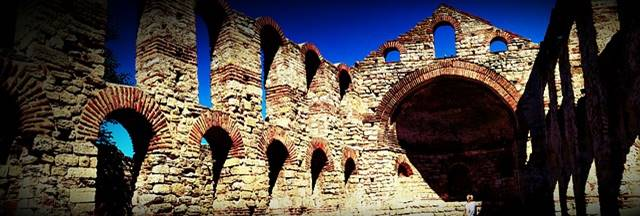 Bulgarien Nessbar Ruine