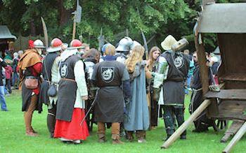 Mittelaterliches Fest im Schlosspark