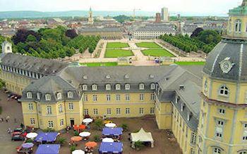 Schlosspark in Karlsruhe