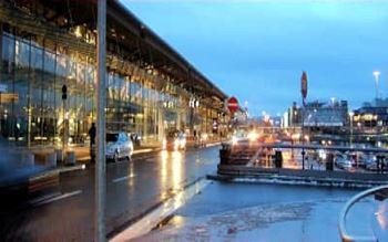 Abflugterminal Flughafen
