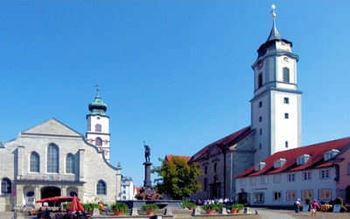 Innenstadt mit Kirche