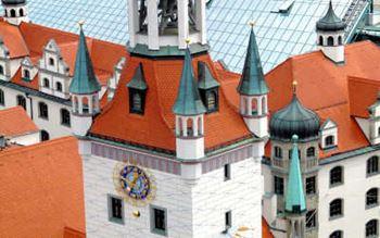 Turmspitzen des Rathauses