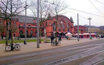 Hauptbahnhof in Bremen