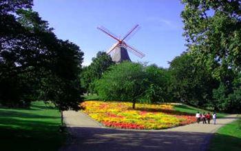 Bremer Wallanlagen - Windmühle