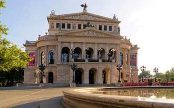 Die alte Oper in Fraknfurt