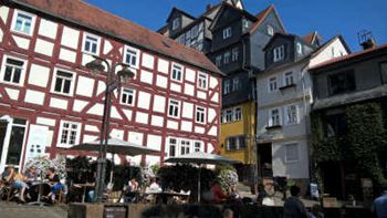 Die Marburger Innenstadt