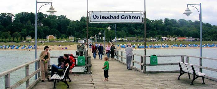 Seebrücke in Göhren