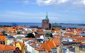 Aussicht über Stralsund