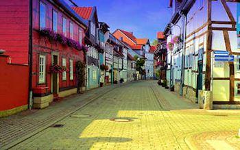 Die Krummestrasse in Wolfenbüttel