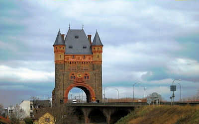 Niebelungenbrücke in Worms