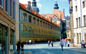 Panoramabild Fürstenzug