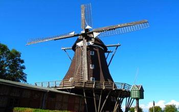 Windmühle in Lemkenhafen