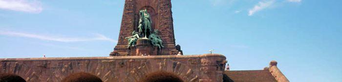 Das Kyffhäuserdenkmal in Thüringen