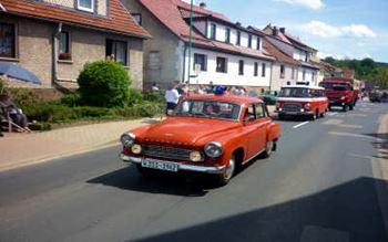 Fahrzeugparade zur 750 Jahr Feier