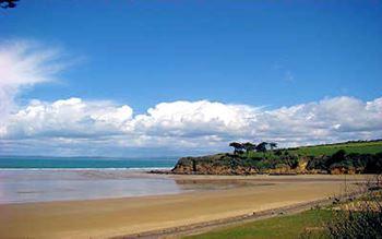 Kleine Bucht in der Bretagne