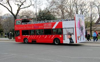 Bus-Tour in Paris