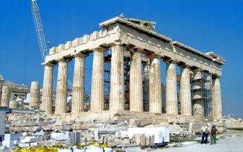 Akropolis Athena-Tempel