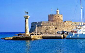 Hafenfestung von Rhodos