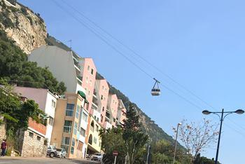 Seilbahn auf Gibraltar
