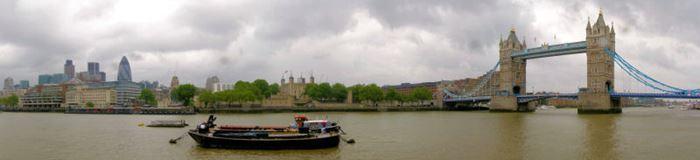 London bei Regen