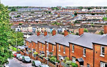 Stadtteil Bogside in Derry