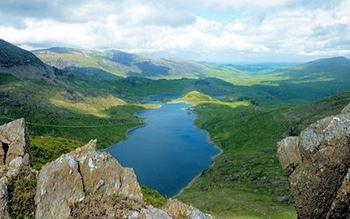Landschaft in Wales
