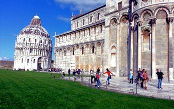 Baptisterium am Dom zu Pisa
