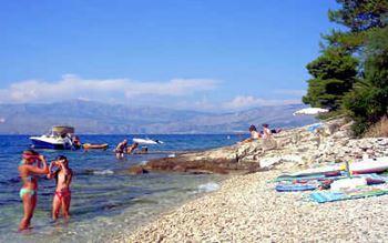 Strand auf Insel Brac
