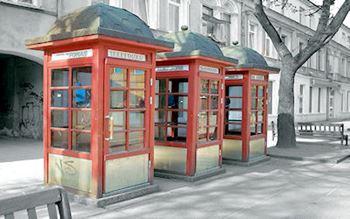 Telefonhäuschen in Kaunas