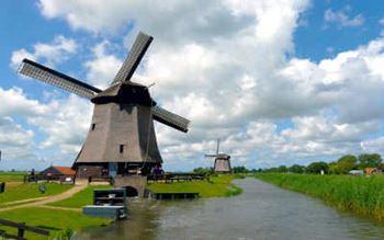 Niederlande - Windmühlen von Schermerhorn