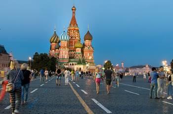 Moskau - Roter Platz
