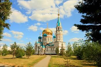 Kirche in Omsk