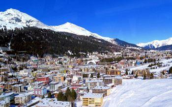 Davos im Winter