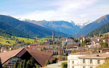 Schweiz - Davos und die Rätischen Alpen