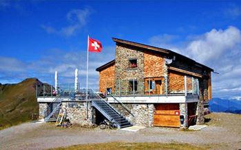 Die Hörnlihütte in Graubünden