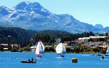 Segeln vor St. Moritz