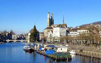 Zürich - Panoramaansicht
