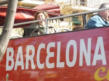 Stadtführung mit Kerstin im Bus