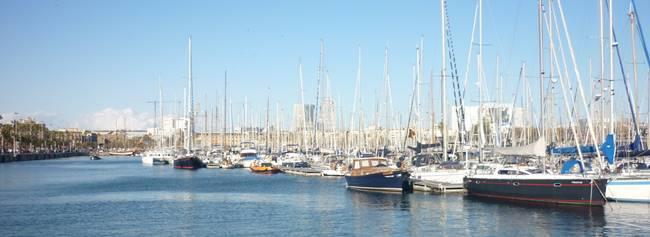 Provinz Katalonien - Hafen in Barcelona