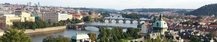 Panorama - Prager Brücken
