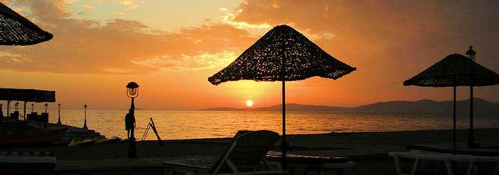 Türkische Riviera - Sonnenuntergang