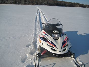 Skidoo für den Winter in Quibeck