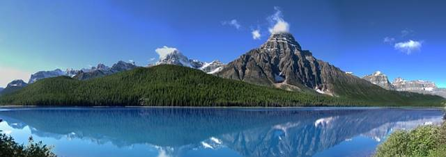 Die Rocky Mountains in British Columbia