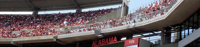 Alabama - A-Game im Bryant–Denny Stadium