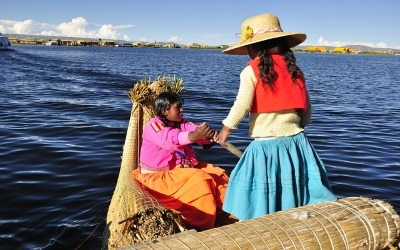 Titicaca See - Bolivien