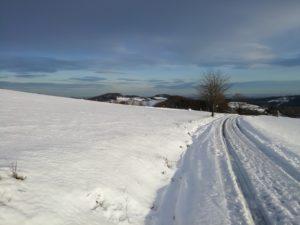 Winterlandschaft bei Hallenberg-Hesborn